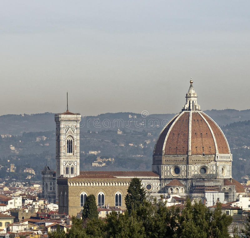 Aerialview von Florenz stockfoto