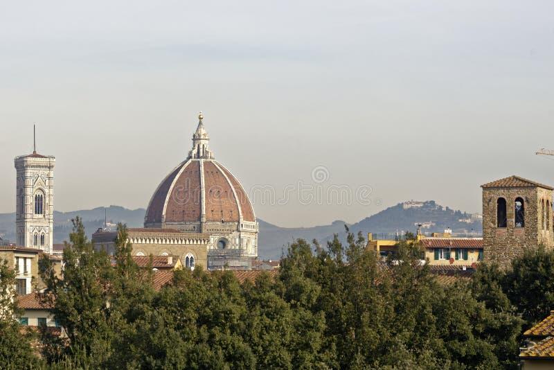 Aerialview von Florenz stockfotos