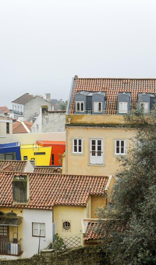 Aerielview de Lisbonne photo libre de droits