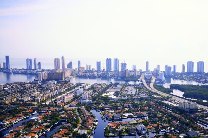 Aerila-Ansicht in Miami lizenzfreies stockfoto