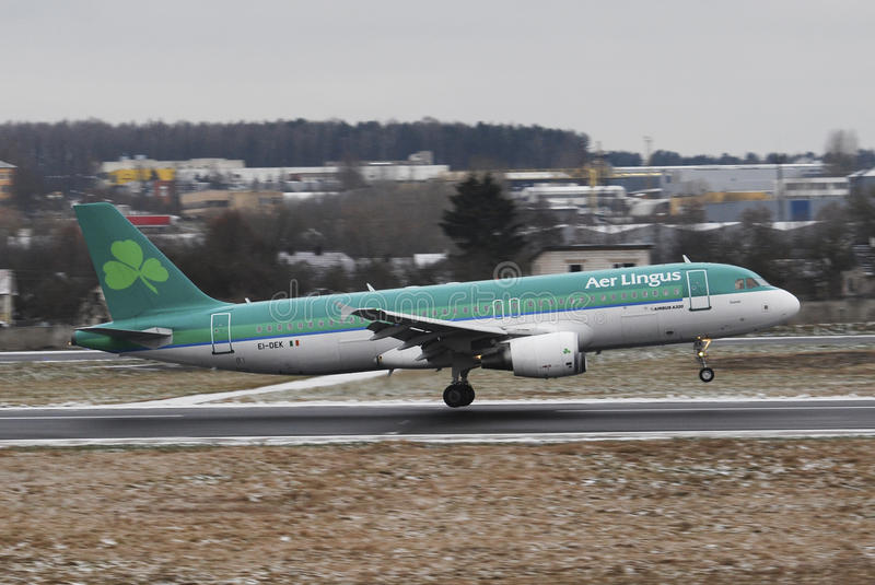 AerLingus stock foto