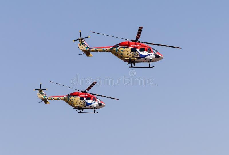 Aero выставка Индии стоковая фотография