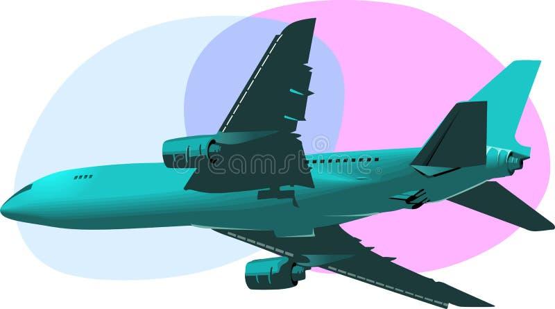 Aero плоскость бесплатная иллюстрация