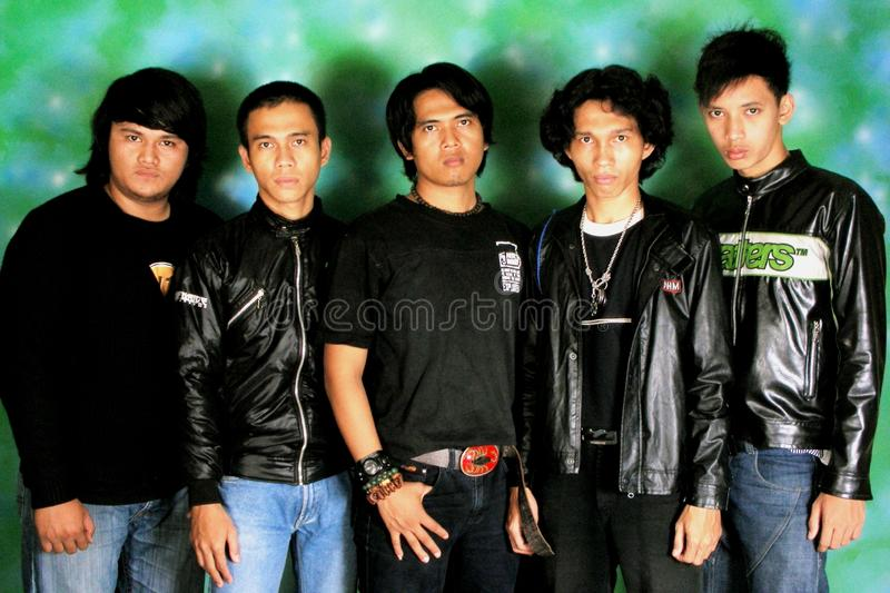 AERO BAND From Indonesia royalty free stock images
