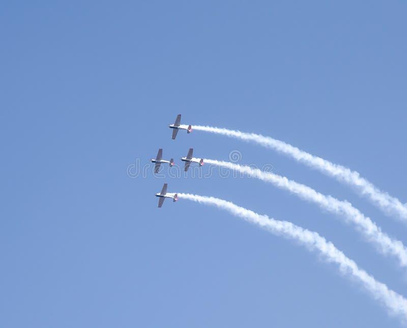 Aero India toont stock foto's