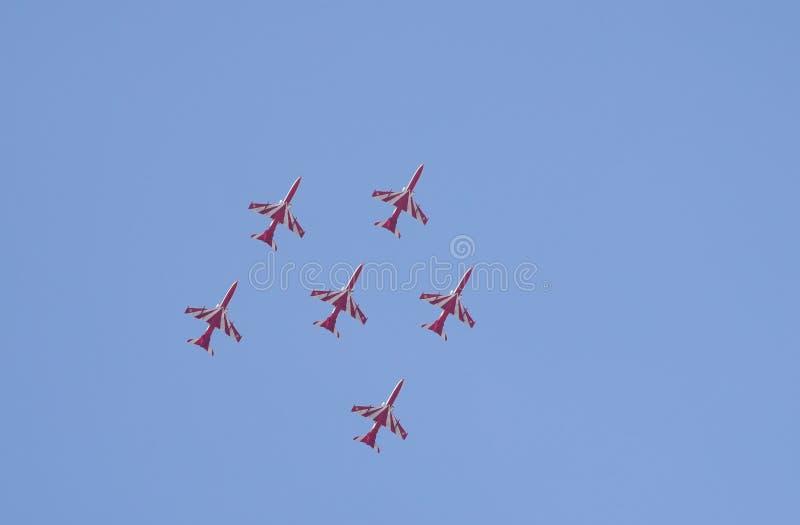 Aero India toont royalty-vrije stock foto