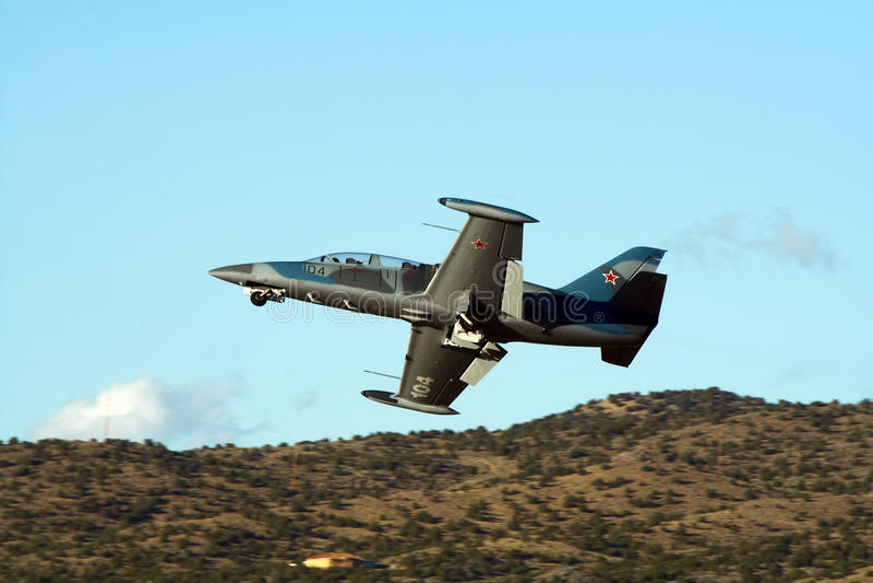 Aero L-39 Albatros royaltyfri fotografi