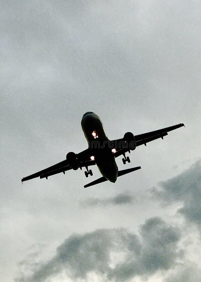 Aero plan obrazy stock