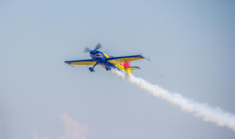 Aerobatic Airplane royalty free stock image