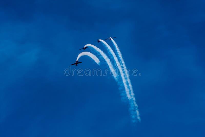 "Aerobatic Display Team ""The Blades"" stock images"