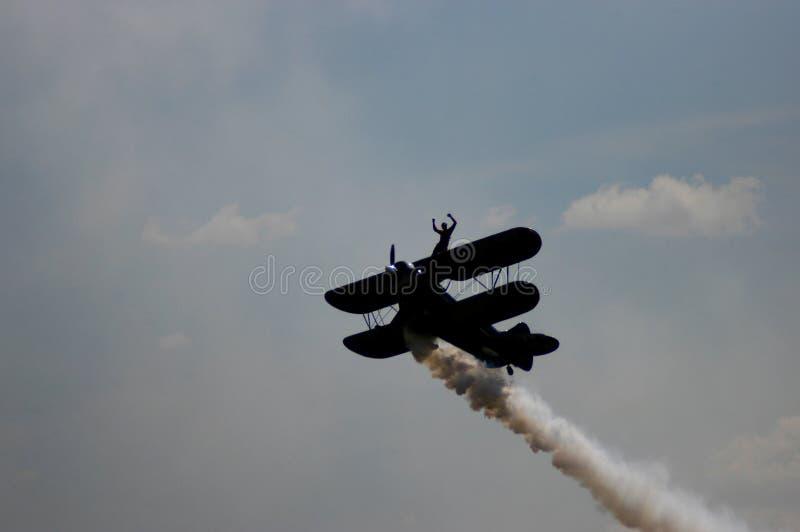 Download Aerobatic Plane II stock image. Image of freedom, aerobatic - 33187