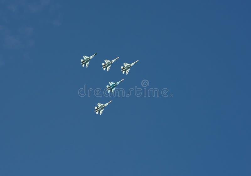 Download Aerobatics. stock photo. Image of aircraft, height, aerobatics - 26286026