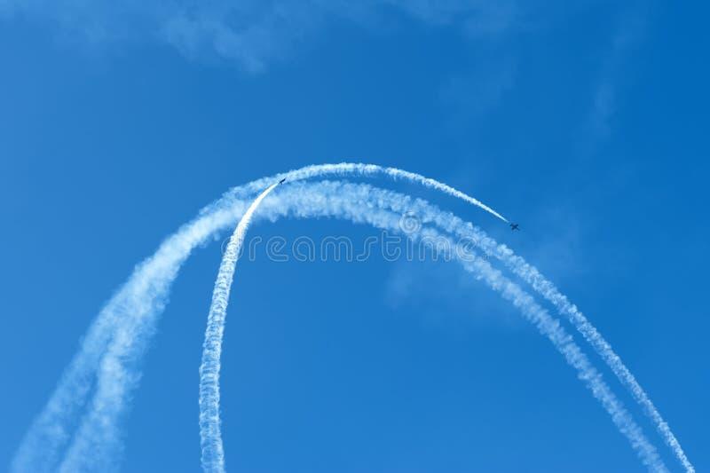 Download Aerobatics stock image. Image of turn, aerobatics, aircraft - 26866893