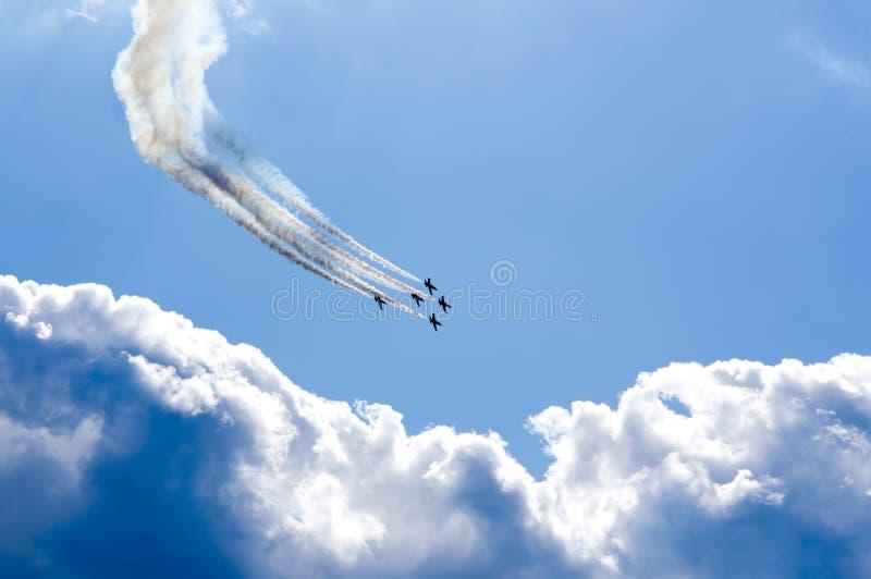 Aerobatics Royalty Free Stock Photography