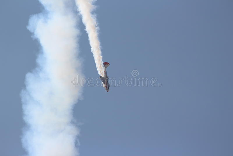 Aerobaticteam: Yakolevs royalty-vrije stock foto's