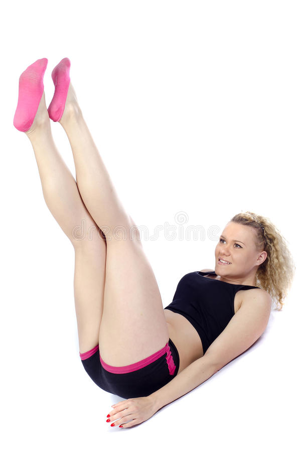 Download Aerobic stock image. Image of female, slim, tank, athlete - 24391859