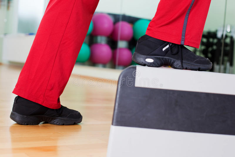 Download Aerobic step stock image. Image of club, fitness, up - 31282925