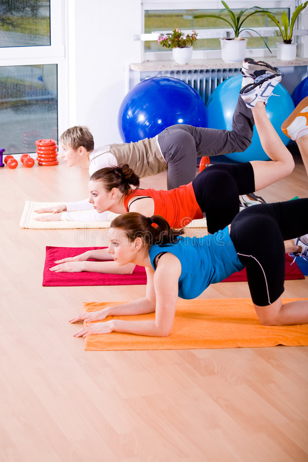 Download Aerobics 12 stock photo. Image of muscle, healthcare, stretching - 4683514