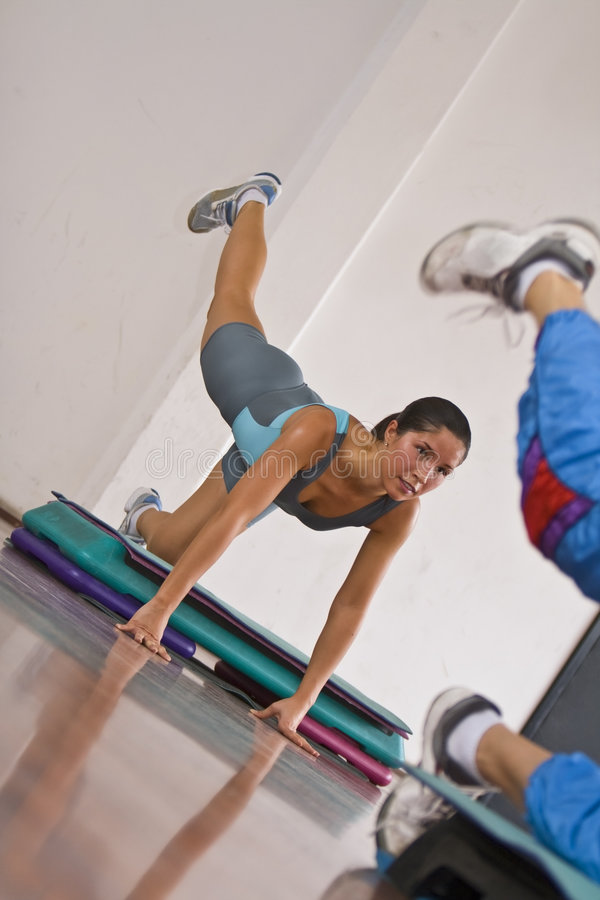 Download Aerobics stock photo. Image of dynamic, legs, wellbeing - 3491626