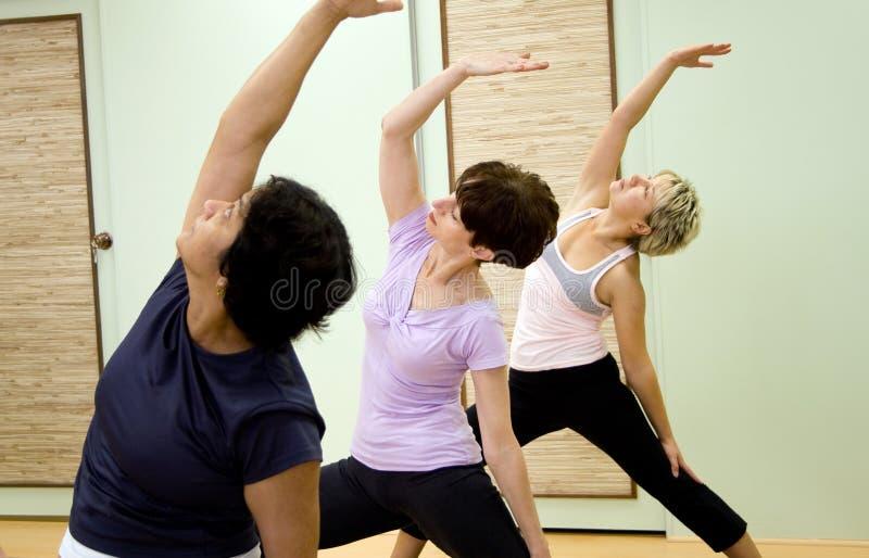 aerobics royalty-vrije stock afbeelding