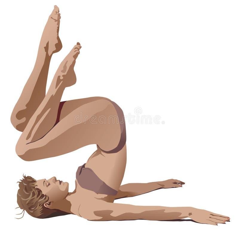 aerobiki ilustracji