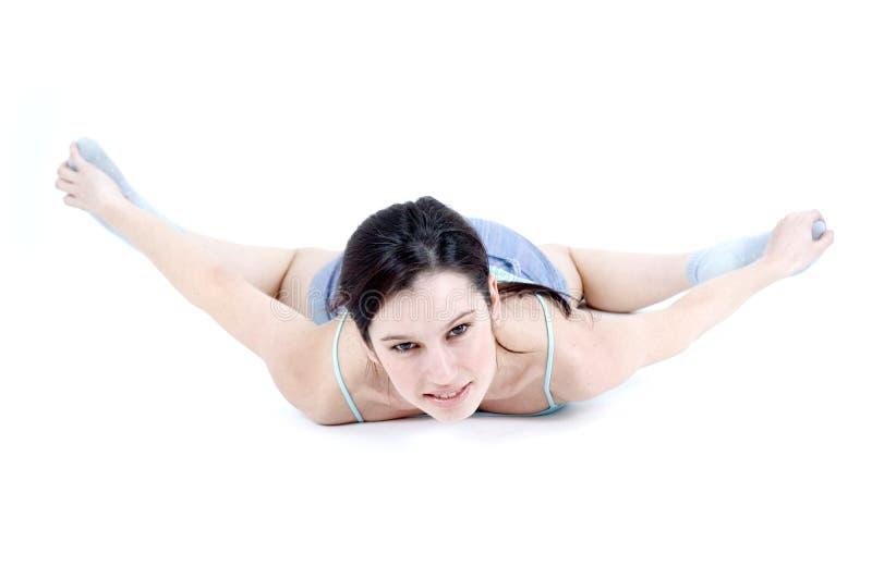 aerobisk flicka arkivbilder