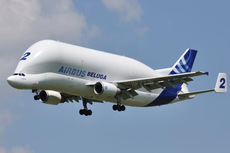 Aerobus Bieługa A300-600ST obrazy stock