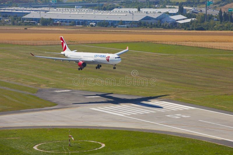 Aerobus A330 Czech Airlines fotografia royalty free