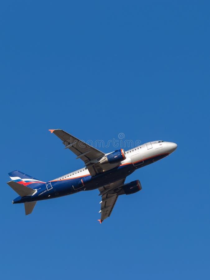Aerobus A319, A Hachaturian fotografia stock