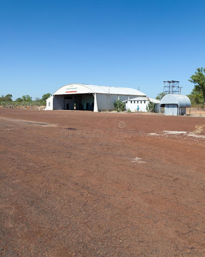 Aerodromo delle acque di Daly in Australia immagini stock