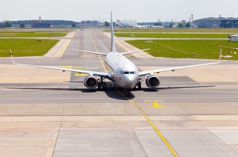 Aeroflot - Rosyjskie linie lotnicze Boeing 737-8LJ zdjęcia royalty free