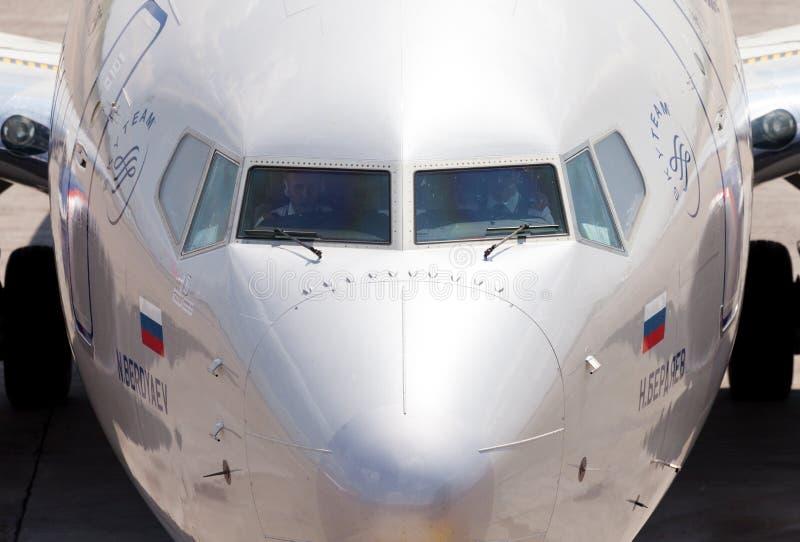 Aeroflot - Rosyjskie linie lotnicze Boeing 737-8LJ obraz stock