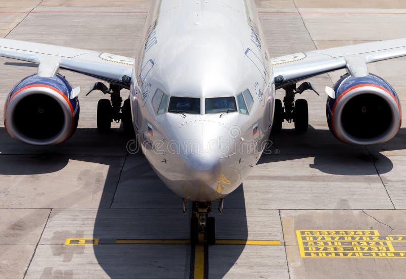 Aeroflot - Rosyjskie linie lotnicze Boeing 737-8LJ zdjęcia stock