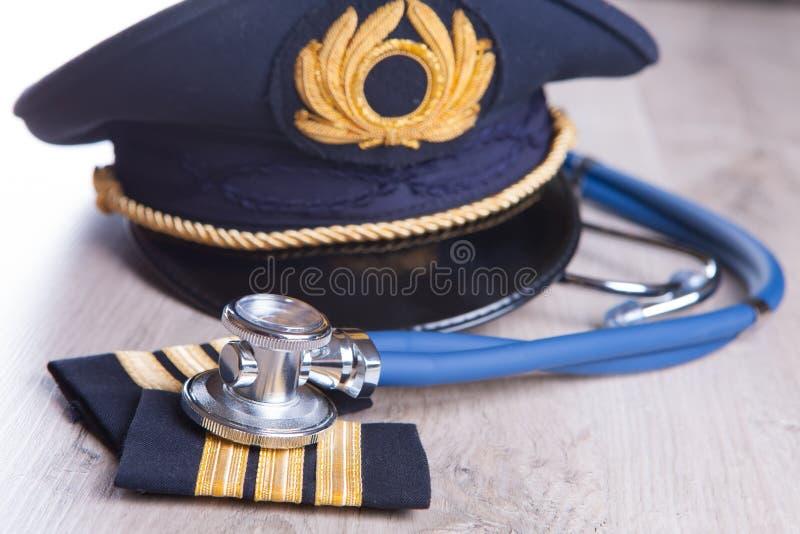 Aeromedical Exam royalty free stock photography