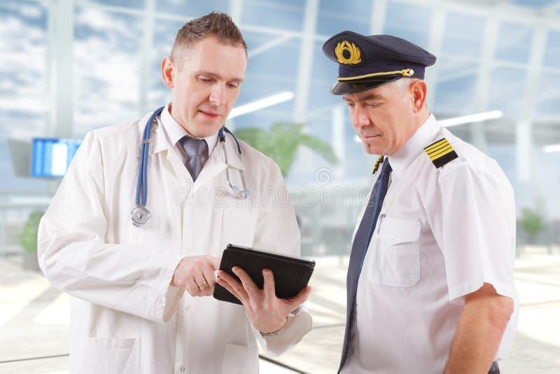 Aeromedical Luftfahrt lizenzfreies stockbild