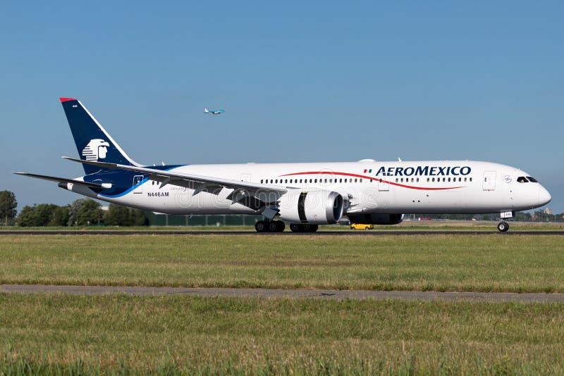 AeroMexico 库存图片
