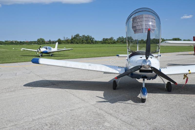 Aeronautica chiara fotografia stock