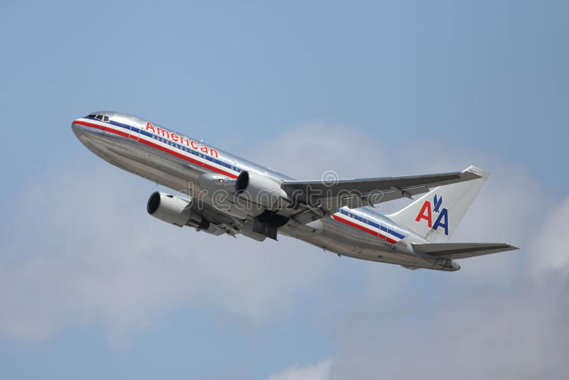 Aeronautica dell'aeroporto di Los Angeles immagini stock libere da diritti