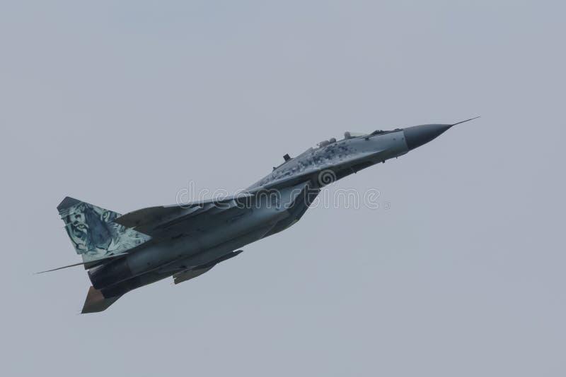 Aeronautica slovacca MIG 29 immagini stock libere da diritti