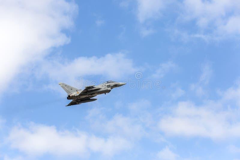 Aeronautica spagnola Eurofighter immagine stock