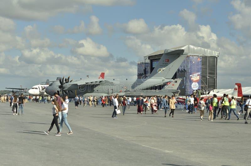 Aeronautyczny festiwal Istanbul XI. obraz stock
