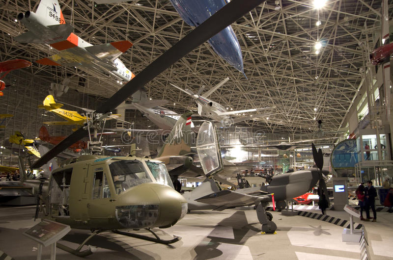 Aeroplani nel museo del volo immagine stock libera da diritti