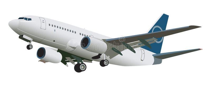Aeroplano ilustración del vector
