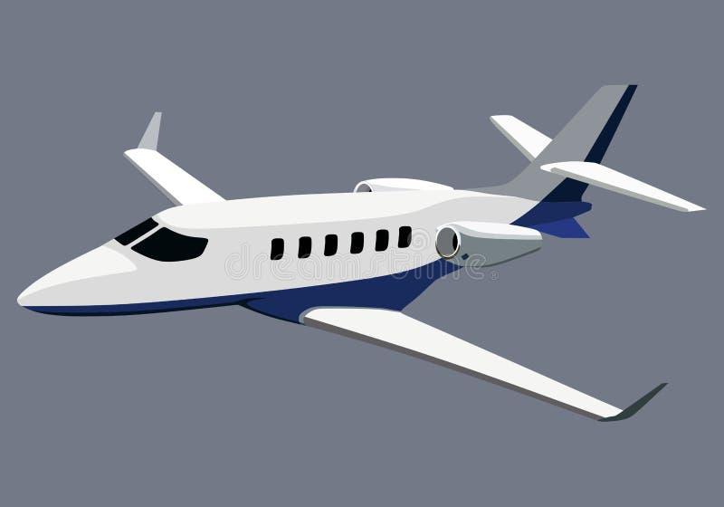 Aeroplano illustrazione di stock