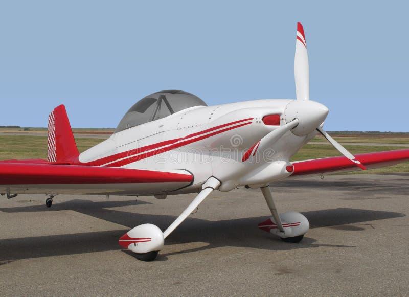 Aeroplano aerobatic di sport di piccolo sport. fotografia stock libera da diritti