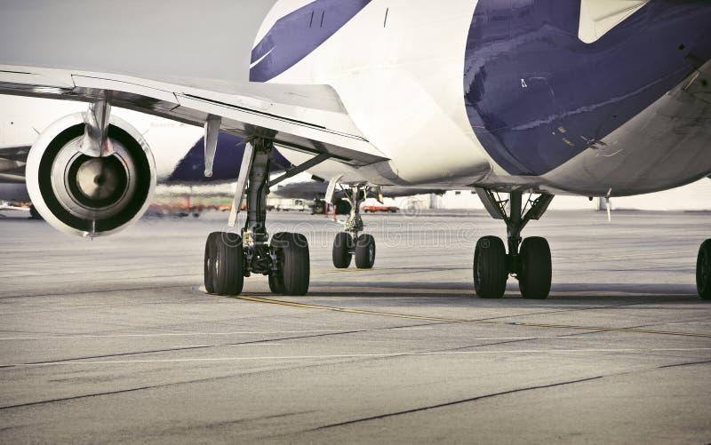 Aeroplano/aeroporto fotografia stock libera da diritti