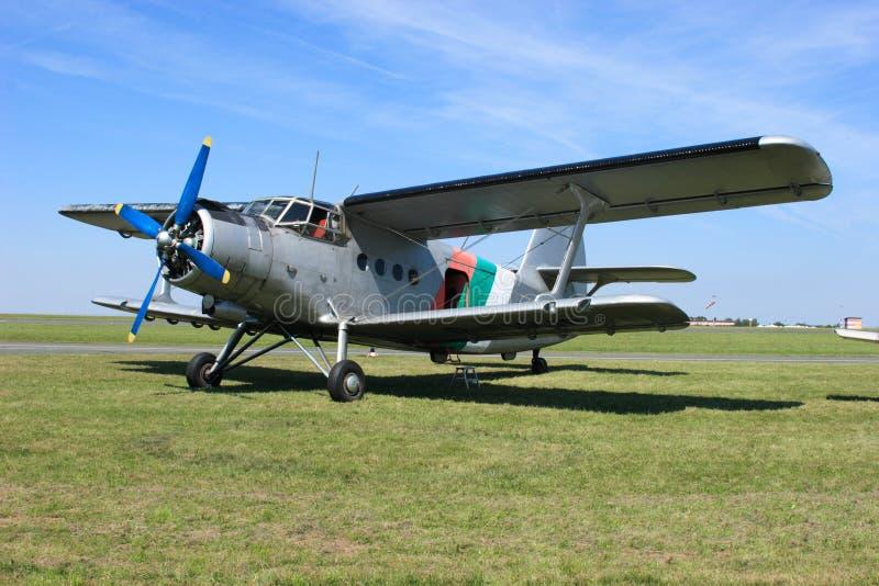 Aeroplano Antonov 2 fotografie stock libere da diritti