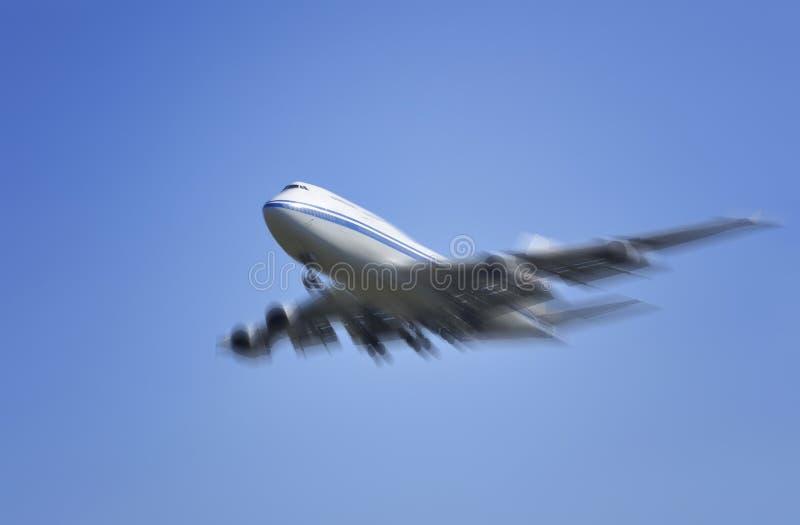 Aeroplano de Boeing foto de archivo