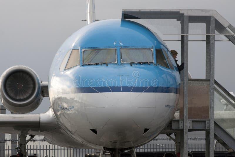 Aeroplano de Fokker imagenes de archivo