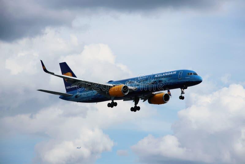 Aeroplano de Icelandair imágenes de archivo libres de regalías